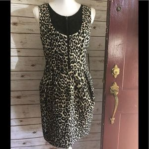 NWT leopard print Timo Weiland dress